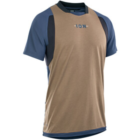 ION Scrub AMP Kurzarm Shirt Herren beige/blau